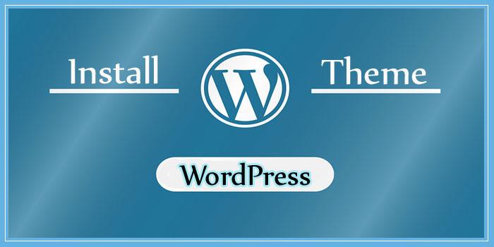 Wordpress Theme Kaise Install Kare Step By Step Jankari