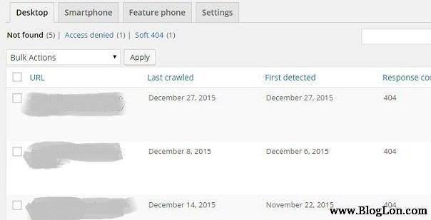 wordpress seo yoast Search Console data