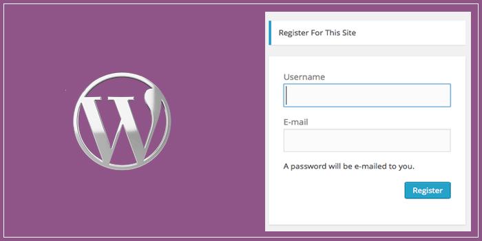 WordPress User Registration Disable Karna Kyo Jaruri Hai