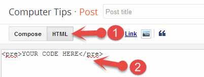 Blogger post में code box कैसे show करते हैं