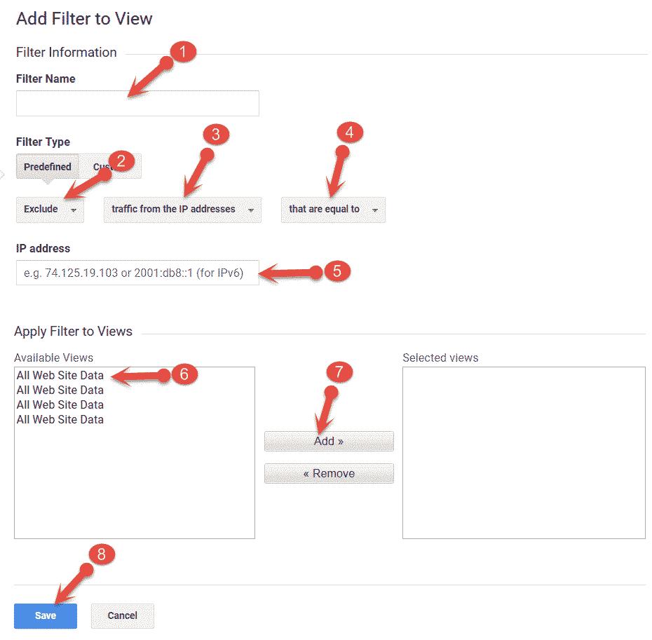 Google Analytics में own pageviews tracking कैसे stop करते हैं