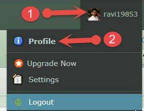 Edit Deviantart profile