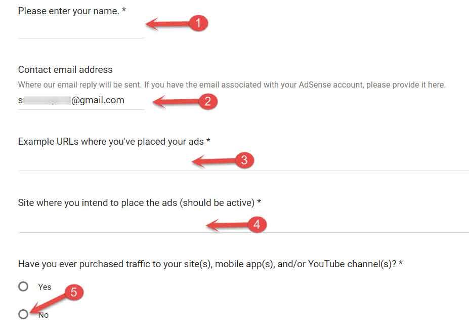 invalid clicks contact form