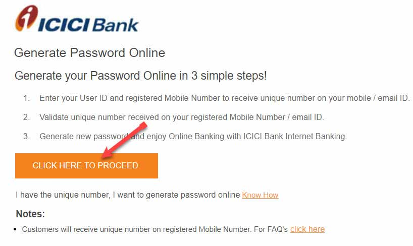Generate Password online