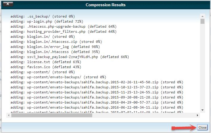 Close Compression Results