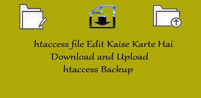 WordPress htaccess File Edit Kaise Karte Hai