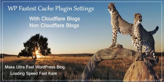 WP Fastest Cache Plugin Settings Kaise Kare Improve Loading Speed