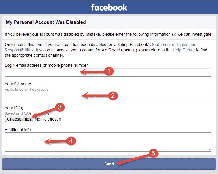 Recover Disabled Facebook Account Hindi